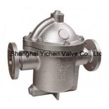 Valve de purge de vapeur à flotteur en forme de cloche en acier au carbone (CS45H)