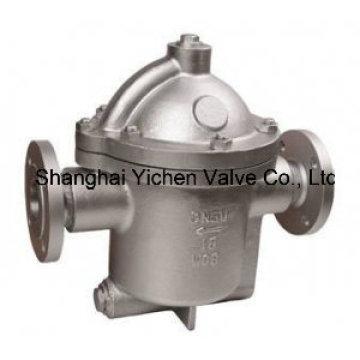 Válvula de armadilha de vapor flutuante em aço carbono em forma de sino (CS45H)