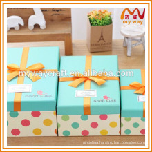 Nice holiday gift box, guangzhou paper box