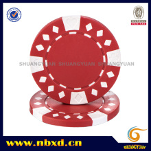11.5g de 2 tonos de diamante adecuado ABS Poker Chip