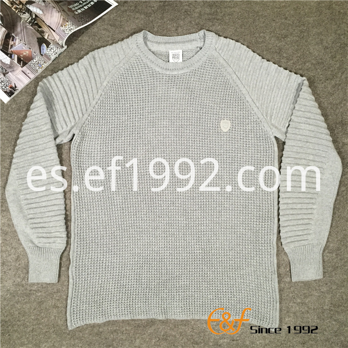 Design Knitted Fashion Men's Thick Sweater