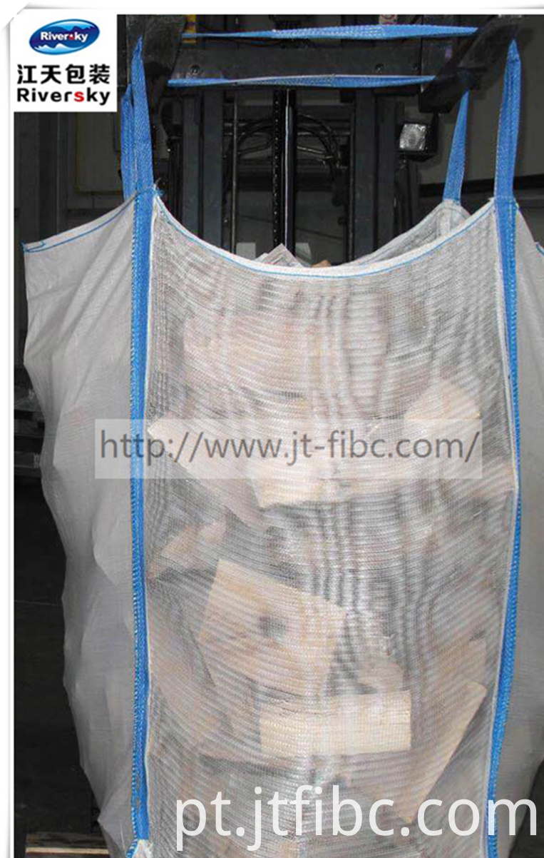 White Breathable Jumbo Bag