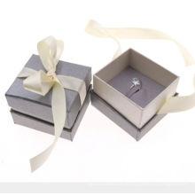 Caixa de Embalagem Rígida da Caixa de Anel de Diamante