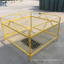 High Quality Light Weight Steel Mesh Pit Guards