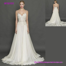 Robe de mariée Robe de mariée / Vintage Robe de mariée en dentelle / Dentelle Robe de mariée dos ouvert