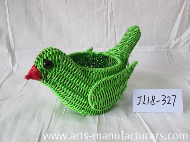 Bird shape basket