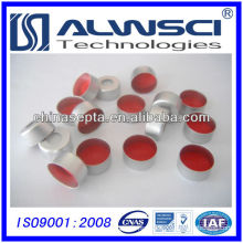Best price with high quality 11mm Aluminum Crimp Cap and PTFE Silicone Septa