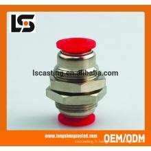 Raccords de tuyauterie en cuivre de fabrication de tôle avec la capacité de production de masse