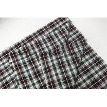 Eyecatching Оптовые дешевые 100% хлопчатобумажной пряжи окрашенных чеков ткани