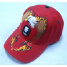 Baseball Cap with Applique Logo Bb1015