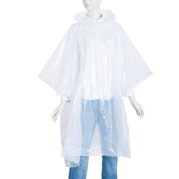 Emergency Milky Color PE Regenponcho