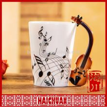 Музыкальная кружка кофе