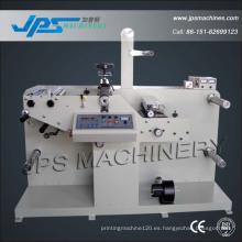 Máquina de corte de matrices de etiquetas de marca registrada con función de corte longitudinal