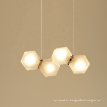 Contemporary  Modern Luxury Glass Led Chandelier Pendant Lights