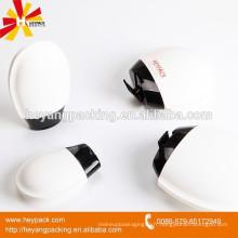 Boby crème / lotion stockée en forme de coeur bouteille en plastique