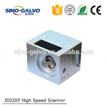 High Competitive EfficientlyJD2207 12mm Input Aperture Fiber Galvo Head
