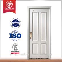 Porta de madeira sólida interior Porta de madeira do banheiro