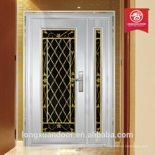 luxury double entry doors hight quality steel door used exterior door for sale