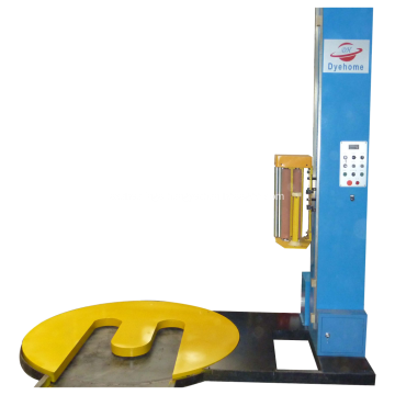 M type pallet pre-stretch wrapping machine for forklift