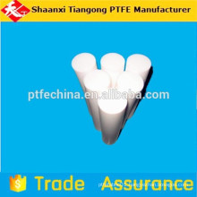 plastic ptfe white color rod bar