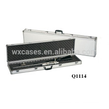 new arrival----durable aluminum rifle case with foam inside manufacturer