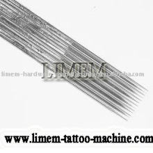 aguja de tatuaje estéril prefabricada