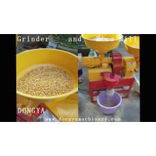 DONGYA 6N40 - 9FC21 0622 Mini molinillo de arroz husker husillo