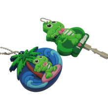 Cute Design PVC 3D Soft Rubber Key Cap
