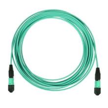 Cabo de fibra óptica multimodo de 3m 10g Om3 50/125 MPO / MTP do tronco