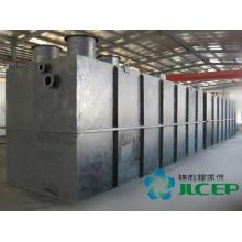 Buried integrated sewage treatment equipment