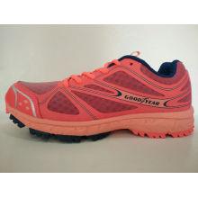 Orange Mesh Comfortable Sports Shoes