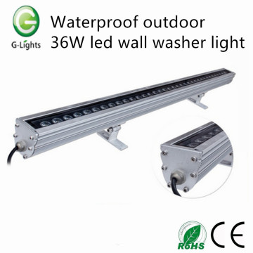 Imperméable à l'extérieur 36W Led Wall Washer Light