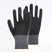 Latex Palm Coating Crinkle Working Safety Gloves