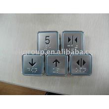 Bouton poussoir d'ascenseur, pièces de levage