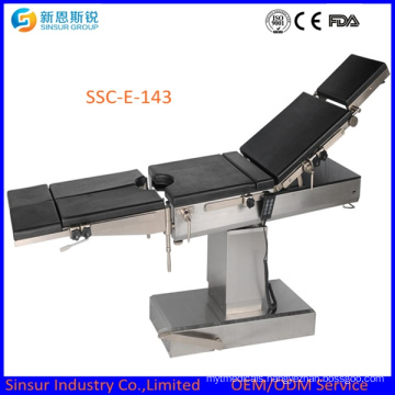 Surgical Equipment Ott Use Electric Multifunction Operating Table