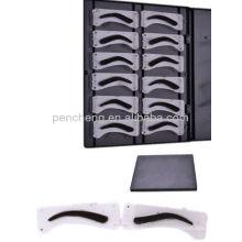 3D Effekt Eyebrow Form Design Schablone