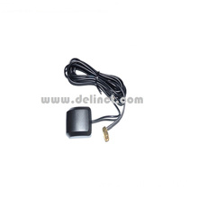 External vehicle GPS antenna with sticker