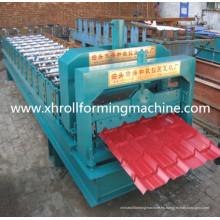 Máquina formadora de tejas esmaltadas para techos