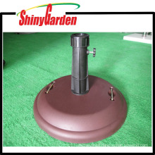 Concrete round sunshade umbrella cement base with handle