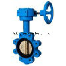 Epoxy Coated Cast Iron Wafer Type Butterfly Valve