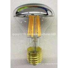 Bulbo do filamento do diodo emissor de luz da luz da loja da parte superior R63 5W E27 do espelho
