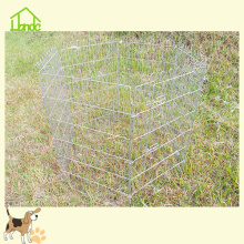 Fil pliant Galvanisé Pet Dog & Rabbit Playpen