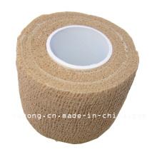 Bandagem Médica de Crepe de Alta Elástica Cor da pele