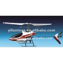 9958 El más nuevo RC 2.4G mini helicóptero de un solo helicóptero 4Ch con girocompás