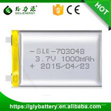 Batería del polímero de litio de los nuevos productos 3.7v 500mah de Geilienergy para el banco del poder