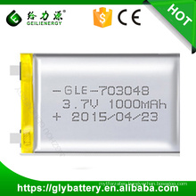 Geilienergy Li-polymer 3.7V 1850mah Rechargeble Batteries