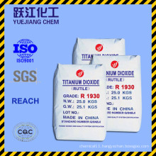 Best Quality Rutile Titanium Dioxide with Factory Price