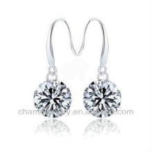 Fashion Round Shape Clear CZ Boucles d'oreilles pour femmes SE-002