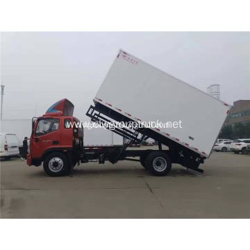 Refrigerator Van Vehicle for meat fish transportation