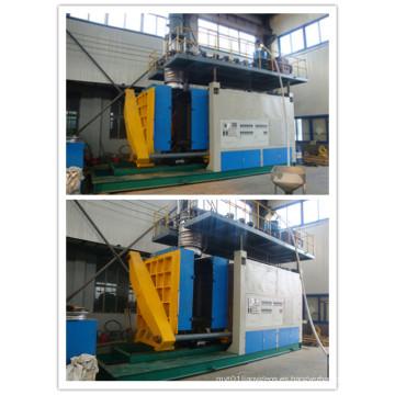 Máquina de moldeo automática del soplo del tanque de agua de HDPE de la capa múltiple